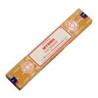 Vonné tyčinky Satya Myrrh 15 g