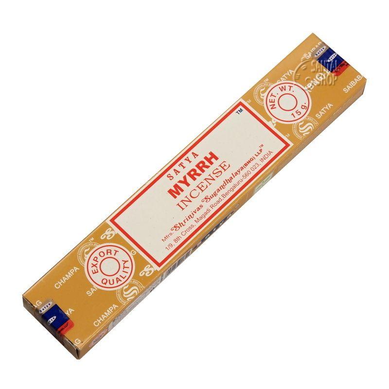 Satya Myrrh indické vonné tyčinky 15 g