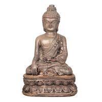 Soška Buddha resin 9 cm hnědý I