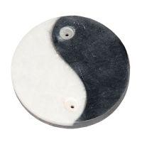Stojánek na vonné tyčinky kamenný Jin Jang 7,5 cm