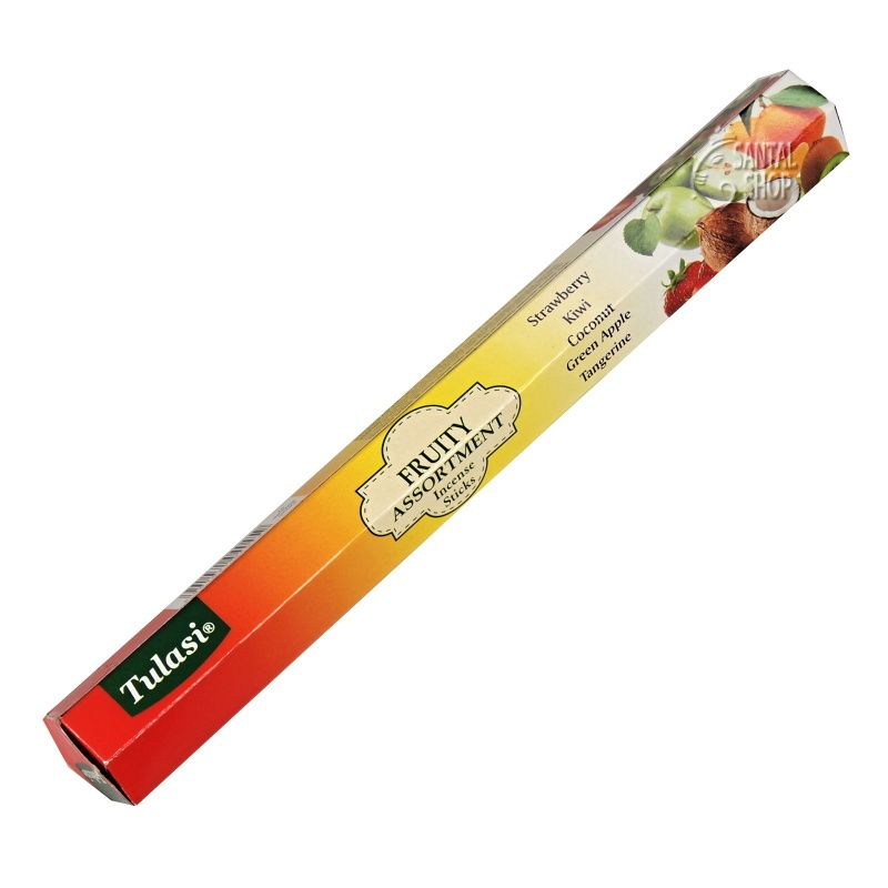 Tulasi Fruity Assortment indické vonné tyčinky 5 x 4 ks