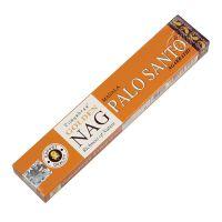 Vonné tyčinky Vijayshree Golden Nag Palo Santo 15 g