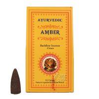 Vonné františky Ayurvedic Amber tekoucí dým