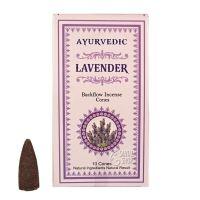 Vonné františky Ayurvedic Lavender tekoucí dým