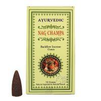 Vonné františky Ayurvedic Nag Champa tekoucí dým