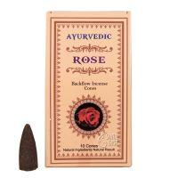 Vonné františky Ayurvedic Rose tekoucí dým