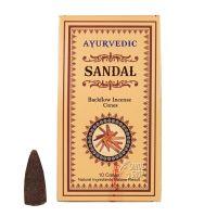 Vonné františky Ayurvedic Sandal tekoucí dým