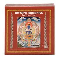 Vonné provázky Nepal Dhyani Buddhas sada 5 x 10 ks