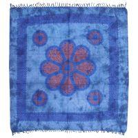 Přehoz Květ modrý 235 x 210 cm