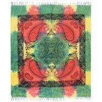 Přehoz Paisley pestrobarevný 235 x 210 cm