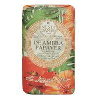 Nesti Dante Monstera mýdlo De ambra papaver 250 g
