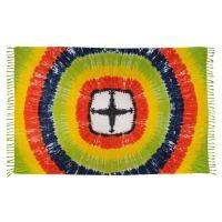 Šátek sarong Oko duhy pestrobarevný
