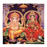 Povlak na polštář Ganesh a Parvati 45 x 45 cm sada 2 ks