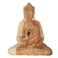 Soška Buddha dřevo 20 cm sv Vitarka