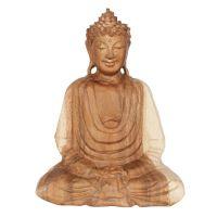 Soška Buddha dřevo 26 cm sv Dhyan