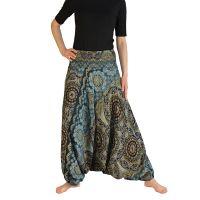 Kalhoty Aladin šedé