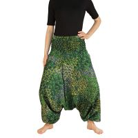Kalhoty Aladin zelené