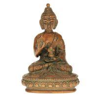 Soška Buddha kov 10 cm