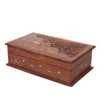 Šperkovnice dřevěná 26 x 15 cm