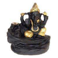 Stojánek na vonné františky tekoucí dým Ganesh