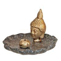Stojánek na vonné tyčinky keramický Buddha 01