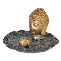 Stojánek na vonné tyčinky keramický Buddha 02