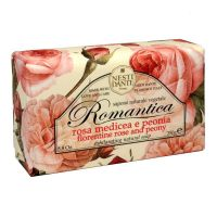 Nesti Dante Romantica mýdlo Růže a pivoňka 250 g