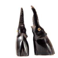 Soška Slon buvolí roh 6 cm Thajsko