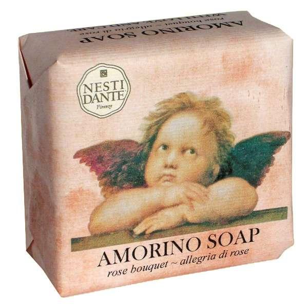 Nesti Dante Amorino soap mýdlo Rose Bouquet 150 g