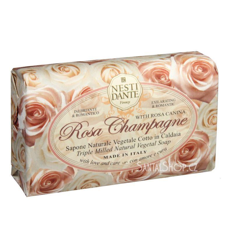 Nesti Dante Le Rose mýdlo Rosa Champagne 150 g