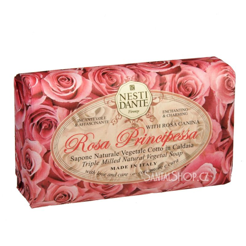 Nesti Dante Le Rose mýdlo Rosa Principessa 150 g