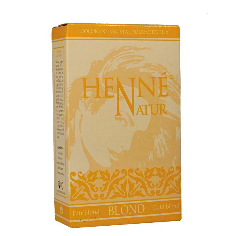 Henna Henné natur Blond barva na vlasy Hennedrog