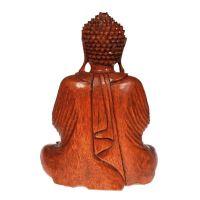 Soška Buddha dřevo 32 cm Indonesie