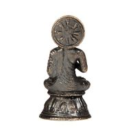 Soška Buddha kov mini 3,2 cm Indie