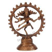 Soška Shiva Nataraja kov 13 cm bronz