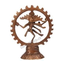 Soška kovová Shiva Nataraja 13 cm bronz