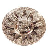 Stojánek na vonné tyčinky kovový - slunce II Indie