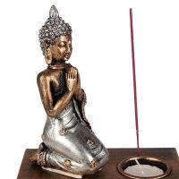 Svícen Buddha IV na čajovou svíčku Čína