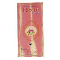 Vonné tyčinky Chandra Devi Rose