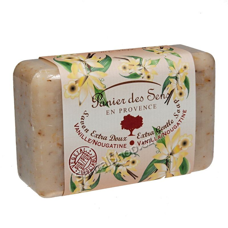 Panier des Sens mýdlo Vanilka a nugát 200 g