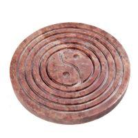 Stojánek na vonné tyčinky Jin jang s kruhy