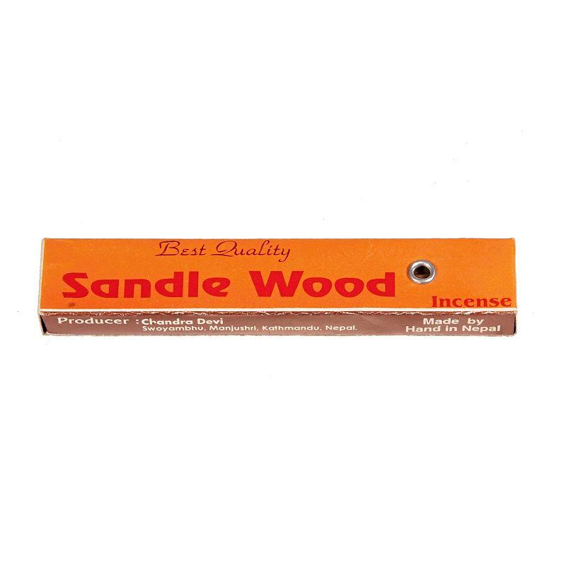 Tibetské vonné tyčinky kapesní Sandal wood Chandra Devi