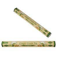 Vonné tyčinky Tulasi Dual Zázvor Zelený čaj