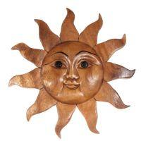 Dekorace na stěnu Slunce 20 cm