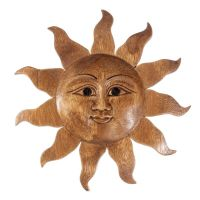 Dekorace na stěnu Slunce 30 cm