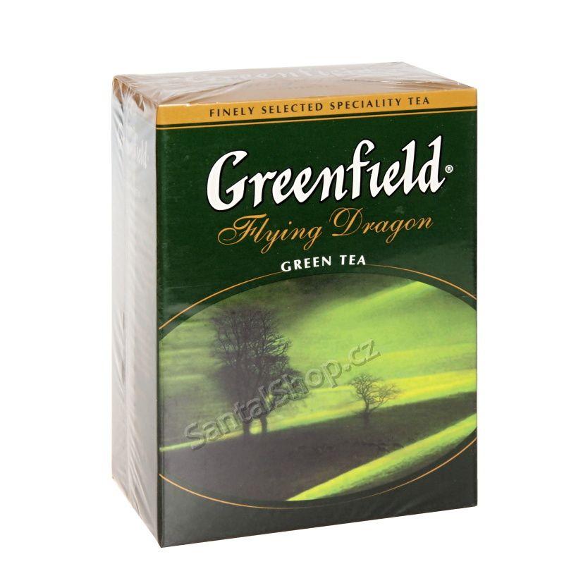 Greenfield Flying Dragon 100 g zelený čaj sypaný