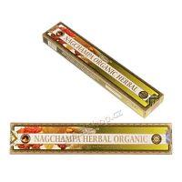 Vonné tyčinky Ppure Nag Champa Herbal Organic