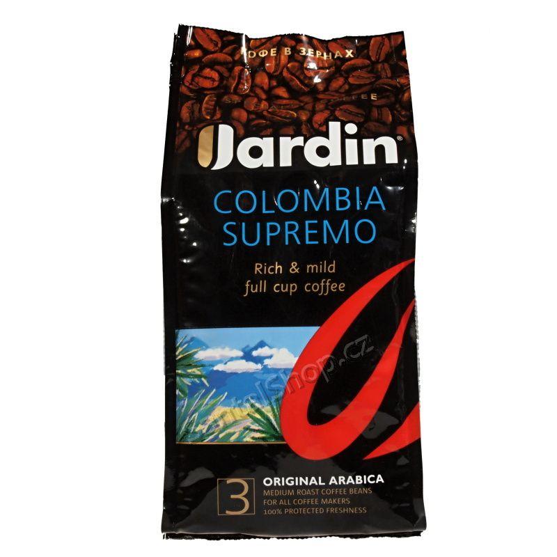 Jardin Colombia Supremo 250 g zrnková káva