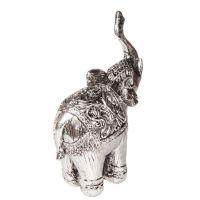 Soška Slon resin 14 cm s chobotem nahoru Čína