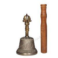 Dilbu tibetský zvonek 15 cm s paličkou Indie